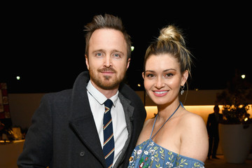 Aaron Paul Lauren Parsekian 25th Annual Race To Erase MS Gala - Cocktail Reception And Silent Auction