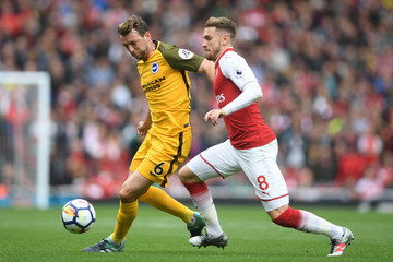 Aaron Ramsey Arsenal v Brighton and Hove Albion - Premier League
