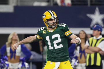 Aaron Rodgers Divisional Round - Green Bay Packers v Dallas Cowboys