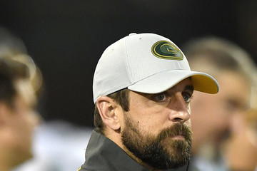 Aaron Rodgers Green Bay Packers vs. Oakland Raiders