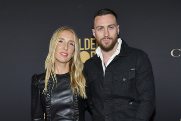 Aaron Taylor-Johnson HFPA And THR Golden Globe Ambassador Party - Press Conference And Arrivals