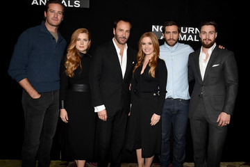 Aaron Taylor Photo Call for Focus Features' 'Nocturnal Animals'