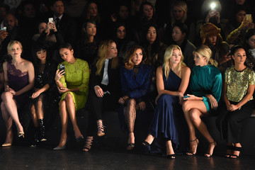 Abbie Cornish Jamie Chung Monique Lhuillier - Front Row - Fall 2016 New York Fashion Week: The Shows