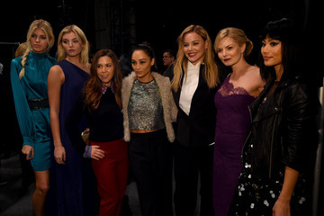 Abbie Cornish Jamie Chung Monique Lhuillier - Backstage - Fall 2016 New York Fashion Week: The Shows