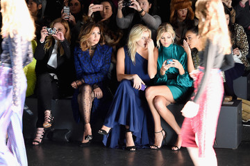 Abbie Cornish Monique Lhuillier - Front Row - Fall 2016 New York Fashion Week: The Shows