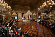 Overview at the Abdication Ceremony Of King Albert II Of Belgium, & Inauguration Of King Philippe at the Royal Palace on July 21, 2013 in Brussels, Belgium.
