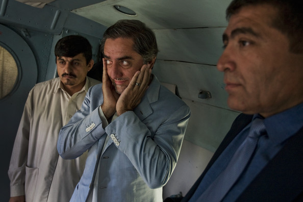 Presidential Candidate Abdullah Abdullah Campaigns Ahead Of Afghan Election