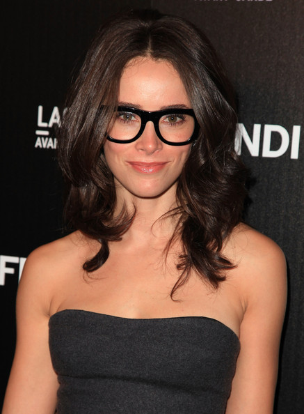 Abigail Spencer Actress Abigail Spencer arrives at the FENDI Boutique ... Tobey Maguire