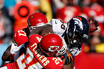 Abram Elam Denver Broncos v Kansas City Chiefs