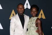 Actors David Oyelowo (L) and Lupita Nyong'o attend the Academy of Motion Picture Arts and Sciences' 8th annual Governors Awards at The Ray Dolby Ballroom at Hollywood & Highland Center on November 12, 2016 in Hollywood, California.