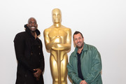 Kevin Garnett and Adam Sandler attend The Academy Of Motion Picture Arts & Sciences Hosts An Official Academy Screening Of UNCUT GEMS at MOMA - Celeste Bartos Theater on December 03, 2019 in New York City.