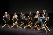 Joe Neumaier, Emily Blunt, Benicio Del Toro, Josh Brolin, Roger Deakins and Denis Villeneuve attend the Official Academy screening of SICARIO hosted by the Academy of Motion Picture Arts and Sciences at the New York Institute of Technology on September 16, 2015 in New York City.