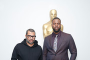 Director Jordan Peele and actor Winston Duke attend The Academy of Motion Picture Arts and Sciences official screening of Us at the MoMA Celeste Bartos Theater on March 18, 2019 in New York City.