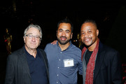 (L-R) Actors Robert De Niro, Kal Penn and Cuba Gooding Jr. attend The Academy of Motion Picture Arts and Sciences 2018 New Members Party at Top of the Rock's 620 Loft and Garden on October 1, 2018 in New York City.