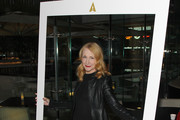 Actress Patricia Clarkson attends the Academy Of Motion Picture Arts and Sciences New Member Reception in New York at Lincoln Ristorante on October 5, 2015 in New York City.