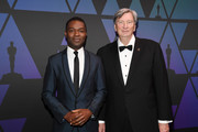 David Oyelowo and John Bailey attend The Academy of Motion Picture Arts and Sciences' Scientific and Technical Awards Ceremony on February 09, 2019 in Beverly Hills, California.