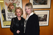 """Actress Tippi Hedren (L) and actress Veronica Cartwright attends the Acadmy of Motion Pictures Arts and Sciences' Screening of """"The Birds"""" at AMPAS Samuel Goldwyn Theater on October 23, 2012 in Beverly Hills, California."""