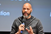 Writer John Ridley speaks onstage at The Academy Presents The 2017 Careers In Film Summit at Samuel Goldwyn Theater on October 14, 2017 in Beverly Hills, California.