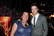 Casting director Alexa Fogel and actor Topher Grace attends The Academy Of Television Arts & Sciences' Casting Directors Peer Group Celebrates The 63rd Primetime Emmy Awards on September 7, 2011 in North Hollywood, California.