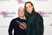 """Richie Jackson and Jordan Roth attend the """"Accidentally Brave"""" Opening Night at DR2 Theatre on March 25, 2019 in New York City."""