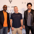 Lance Reddick and Joe Manganiello Photos