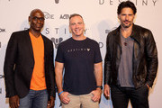 Lance Reddick and Joe Manganiello Photos Photo