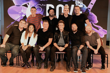 Adam Agee Dave Stovall 46th Annual GMA Dove Awards Nominations Press Conference