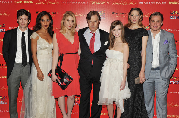 "The Cinema Society with Town & Country And Brooks Brothers Host A Screening Of ""Damsels In Distress"" - Inside Arrivals"