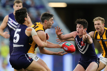Adam Cerra AFL Rd 19 - Fremantle vs. Hawthorn