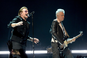 Adam Clayton U2 Performs At The Forum