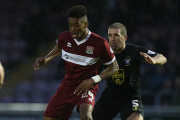 Adam El-abd Northampton Town v Bury - Sky Bet League Two
