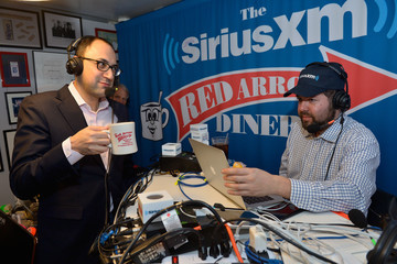 Adam Green SiriusXM Broadcasts New Hampshire Primary Coverage Live From Iconic Red Arrow Diner - Day 2