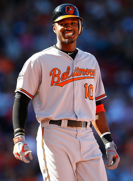Adam+Jones+Baltimore+Orioles+v+Boston+Re