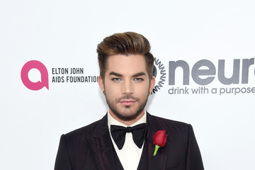 Adam Lambert 25th Annual Elton John AIDS Foundation's Oscar Viewing Party - Red Carpet