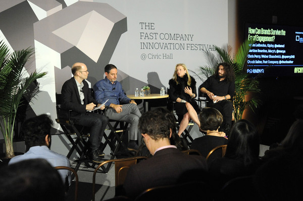 The Fast Company Innovation Festival - Weber Shandwick Panel