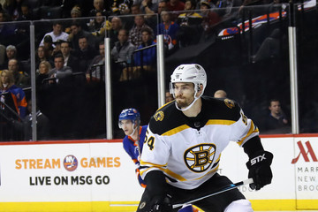 Adam McQuaid Boston Bruins v New York Islanders