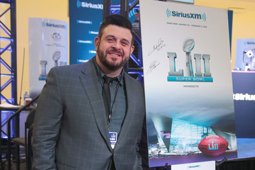 Adam Richman SiriusXM at Super Bowl LII