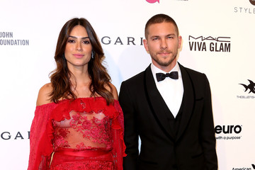 Adam Senn Celebrities Attend an Oscar Viewing Party