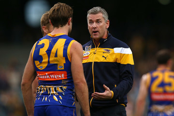 Adam Simpson AFL Rd 16 - West Coast v Port Adelaide
