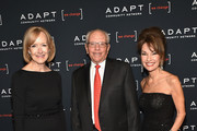 (L-R) Judy Woodruff, Marty Hausman, and Susan Lucci attend the Adapt Leadership Awards Gala 2018 at Cipriani 42nd Street on March 8, 2018 in New York City.