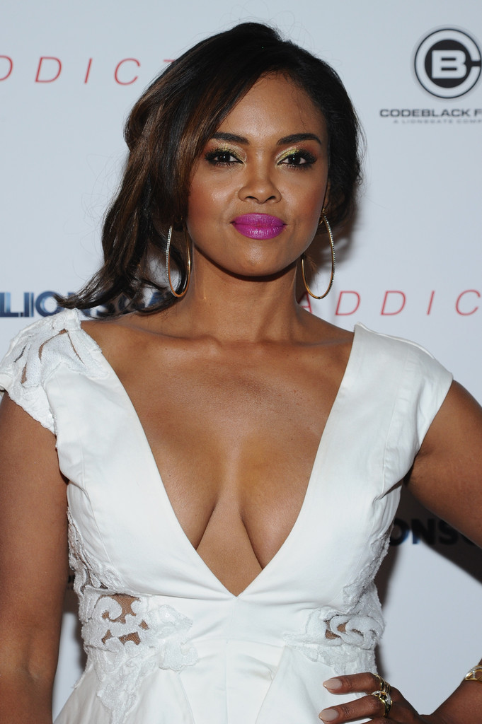 Sharon Leal Photos Photos Addicted Premieres In Nyc