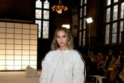 Jamie Chung attends the Adeam fashion show during February 2020 - New York Fashion Week: The Shows at The Highline Hotel on February 10, 2020 in New York City.