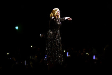 Adele Adele Performs at the SSE Hydro