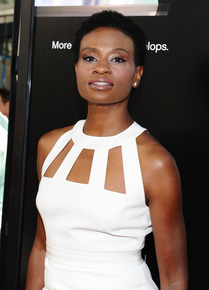 Adina Porter Actress Adina Porter arrives at HBO's New Series 'Newsroom' Los Angeles Premiere at ArcLight Cinemas Cinerama Dome on June 20, 2012 in Hollywood, California.