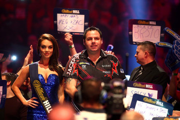 Adrian Lewis 2017 William Hill PDC World Darts Championships - Day Five