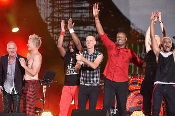 Adrian Young 2014 Global Citizen Festival In Central Park To End extreme Poverty By 2030 - Show