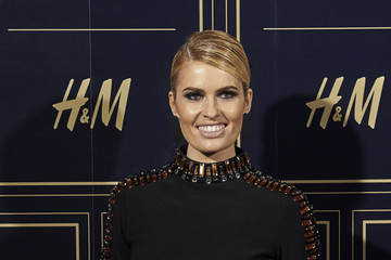 Adriana Abenia Balmain and H&M Collection Launch Party in Madrid