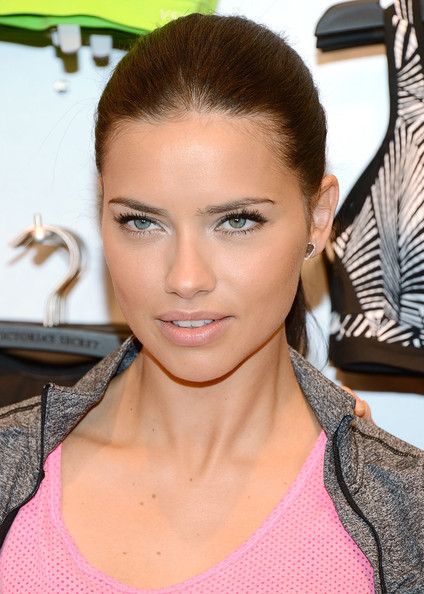 Victoria's Secret model Adriana Lima attends the Victoria's Secret