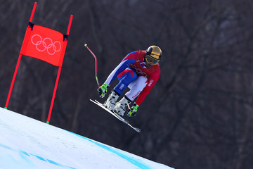 Adrien Theaux Alpine Skiing - Winter Olympics Day 0