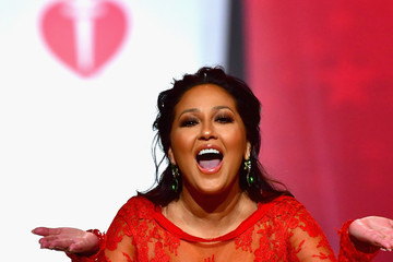 Adrienne Bailon The American Heart Association's Go Red For Women Red Dress Collection 2018 Presented By Macy's - Runway